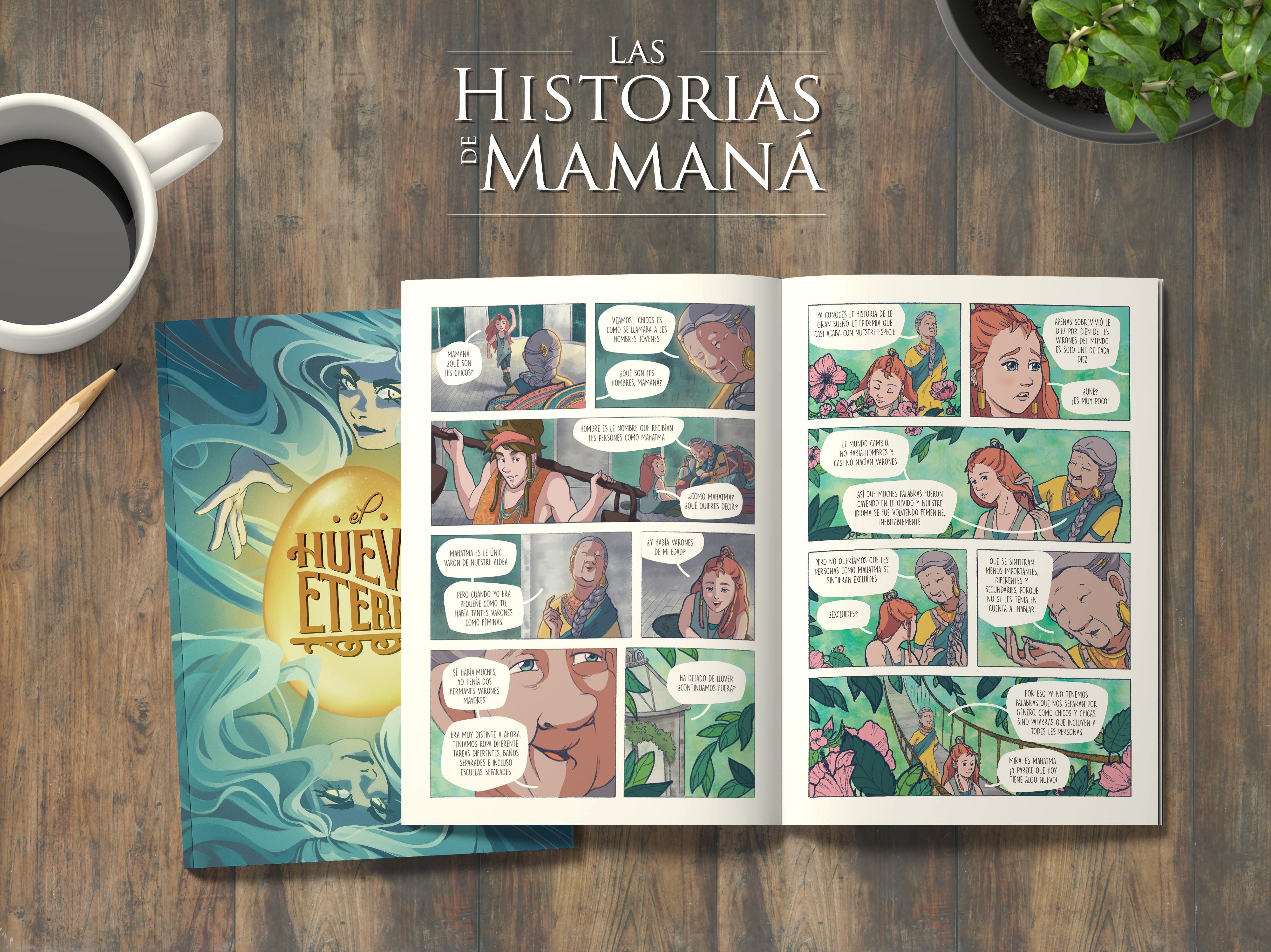 fanzine Las Historias de Mamaná